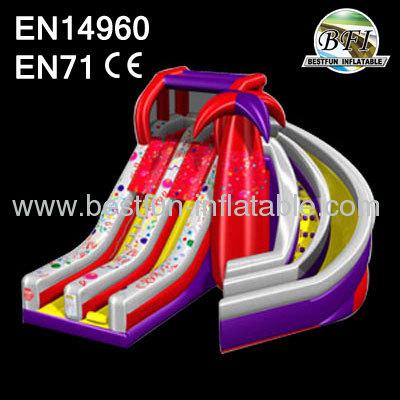 20' Inflatable Spiral Slide