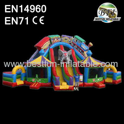 Giant Inflatable Circus City