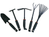 5pcs Portable Garden Hand Tools Set