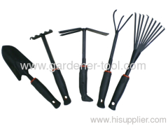 5pcs Metal garden hand tools set