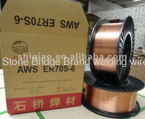 CO2 mig welding wire AWS ER70S-6 from China manufacturer ...