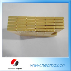 gold coating NdFeB Permanent Magnets