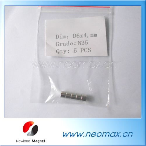 n35 D6x6mm neodymium magnets