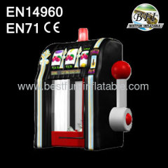PVC Inflatable Slot Machine