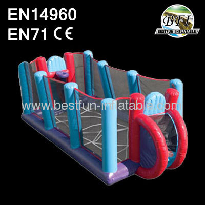 Inflatable Foosball Basketball Game