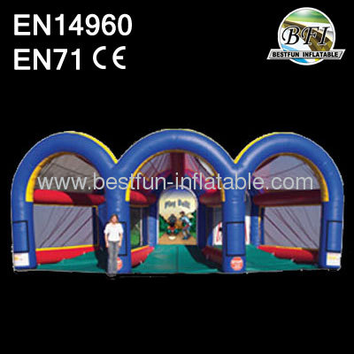 Inflatable Triple Sports Game