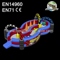Inflatable Grand Prix Track