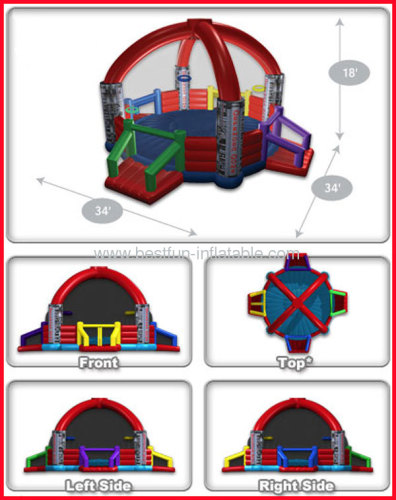 Customized Colorful Kids Inflatable Defender Dome
