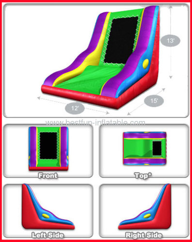 Flytrap Wacky Inflatable Sticky Wall Manufacturers And