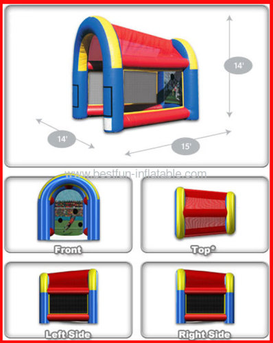 Inflatable Mini Sport Cage, Sports Game