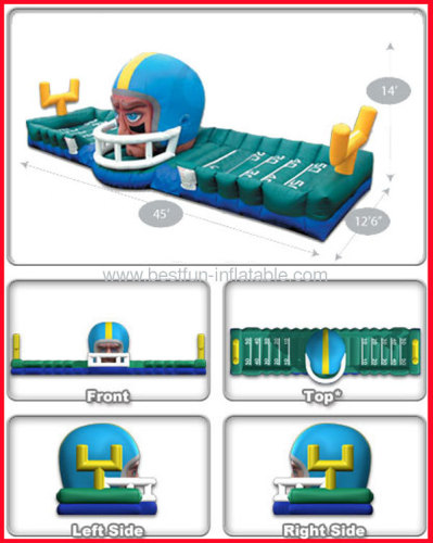 Inflatable Touchdown Helmet Equalizer