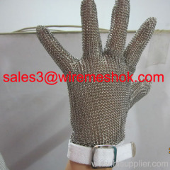 Metal Mesh Gloves for Butcher