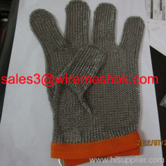 stainless steel mesh gloves for butcher