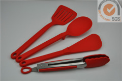 Food grade 4pcs silicone kitchen tools