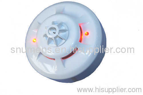Remote LED indicator output function 2-wire conventiona smoke and heat combined detector