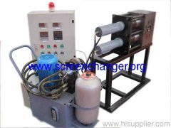 double piston continuous hydraulic screen changer