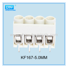 300V 15A 22-12 Way Electrical Screw Terminal Block Housing with Terminal Strip