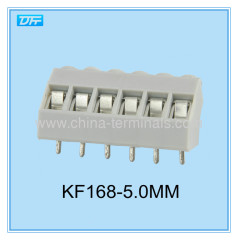 Pitch 5.0mm 150V 15A Terminal Block Insulated Screwdrivers 168 Series From KaiFeng