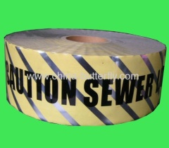 Caution tape/Hazard Stripe tape/Warning tape
