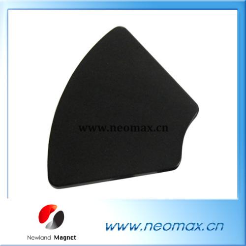 Black epoxy coated acr neodymium magnet