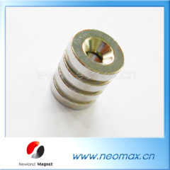 Parmanent Countersunk Hole Magnet