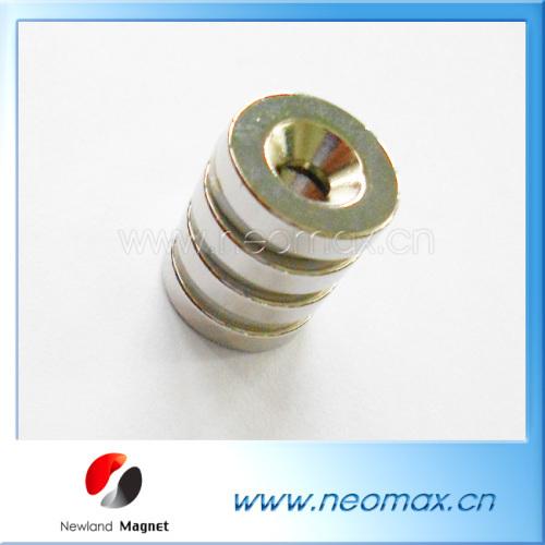Parmanent Countersunk Hole Magnet