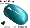USB NANO receiver 2.4g wireless optical mini mouse for MAC