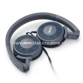 AKG K420 Foldable Mini Headphones Blue