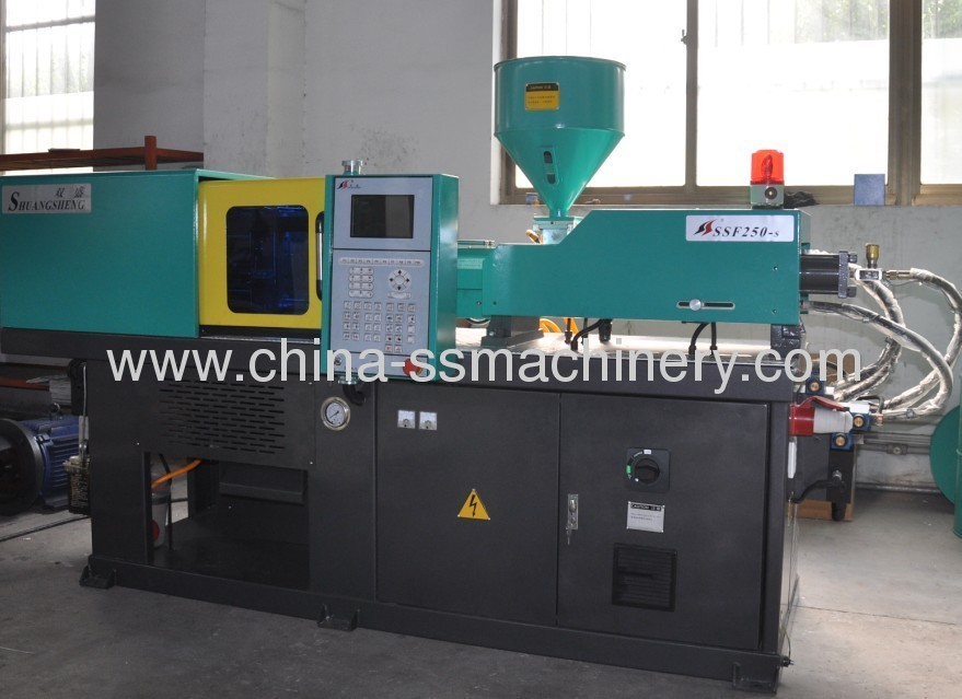 injection molding machine specialized for plastic gears making