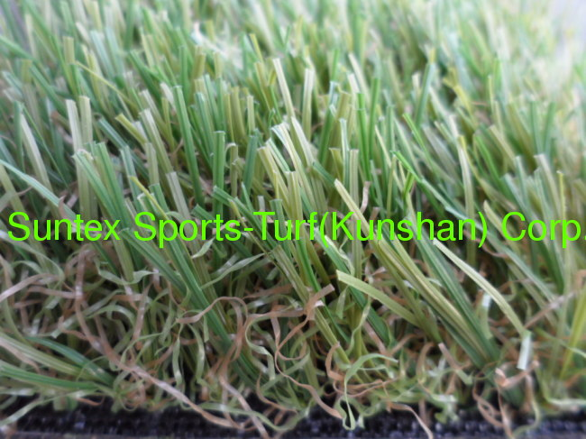 landscaping new colored artificial grass