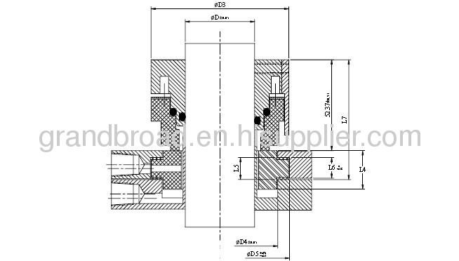 Equivalent to John Crane 32 Flowserve VRC Burgmann Seccomix Multi Spring Seal