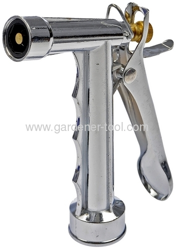 5.5zinc trigger nozzle with metal trigger and brass nut and pull rod