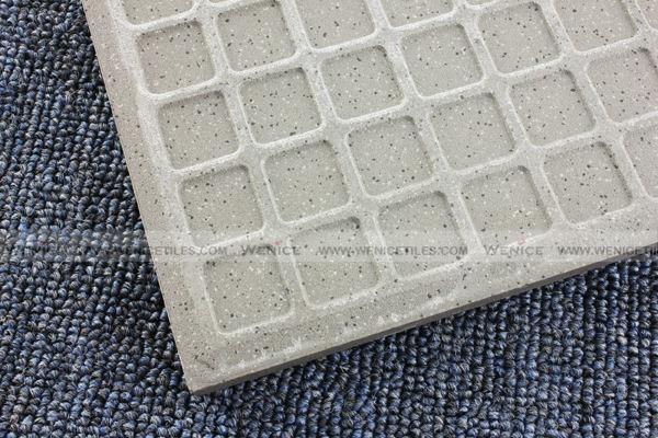 Grey Abrasive resistant exterior floor covering