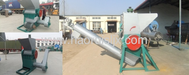 China Efficient Waste plastic washing machine