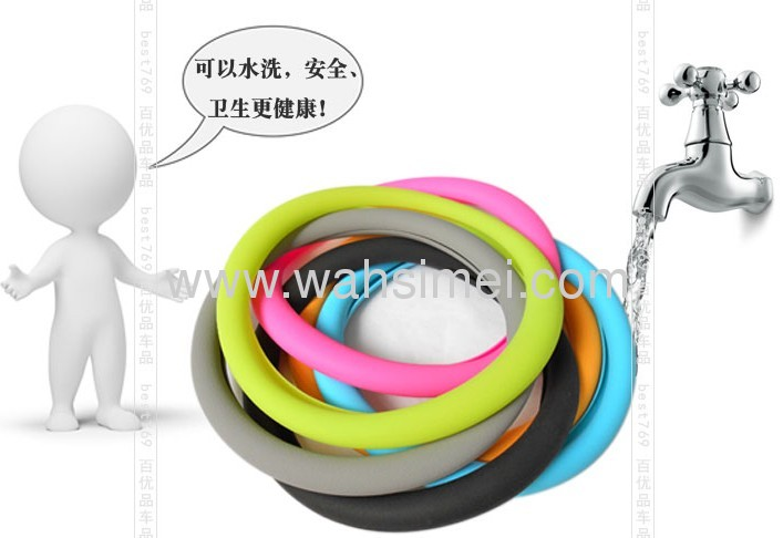 Newest for Silicone steering wheel cover for car promotion