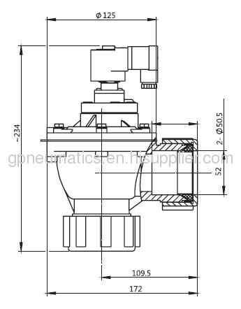 DD series 1.5pulse valve
