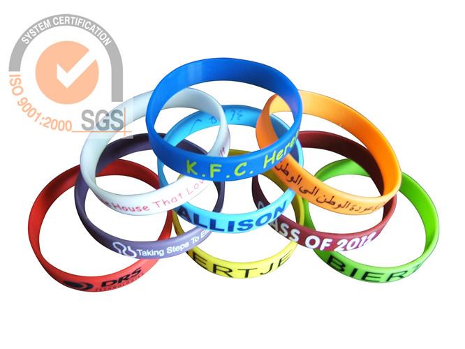 SportSilicone Wist brand in double Color