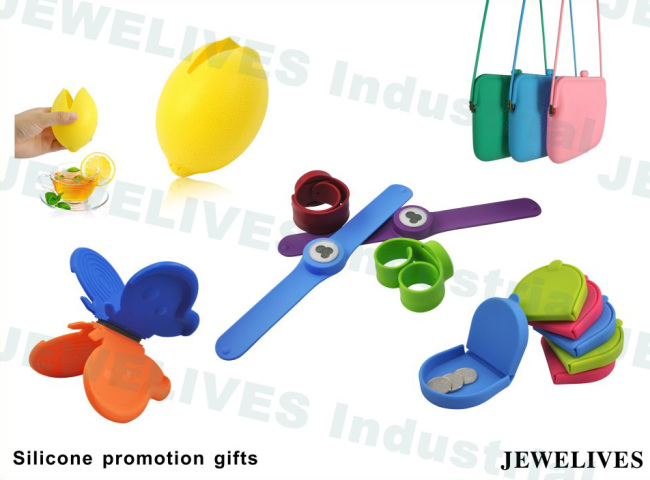 Promo Silicone Wrist Band in Colorful