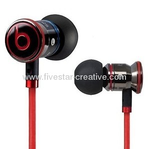 iBeats In-Ear Noise Isolation Headphones with ControlTalk from Monster Black