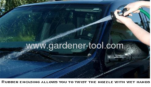 Metal 2-Pattern Fire Nozzle/2-function torch nozzle./Portable Hose Nozzle