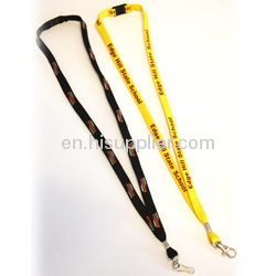 yellow 3/8cm Bootlace String Lanyards