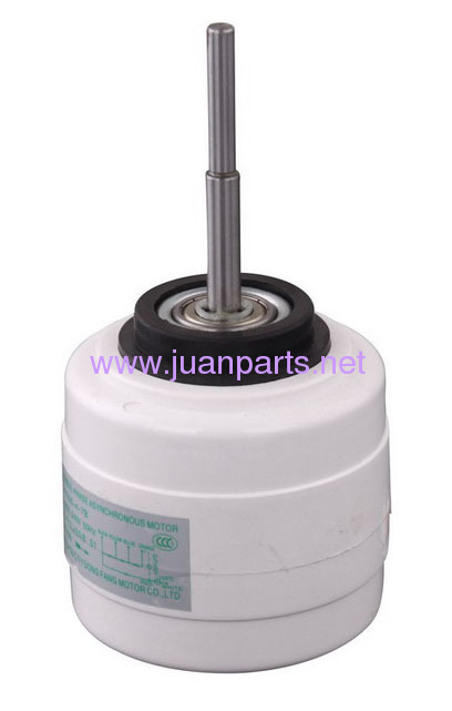 Indoor split air conditioner plastic package motor
