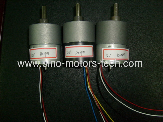 37mm BLDC Gear Motor with Encoder