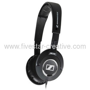 Sennheiser HD218 Closed Back Headphones Optimized for iPhone/iPod/MP3 and Music Players