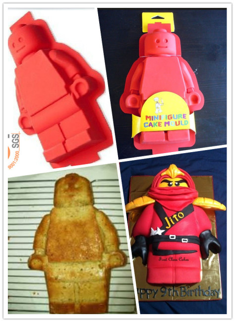 LEGO MINIFIGURE CAKE JELLO BROWNIE MOLD PARTY CAKE PAN FAST US ...