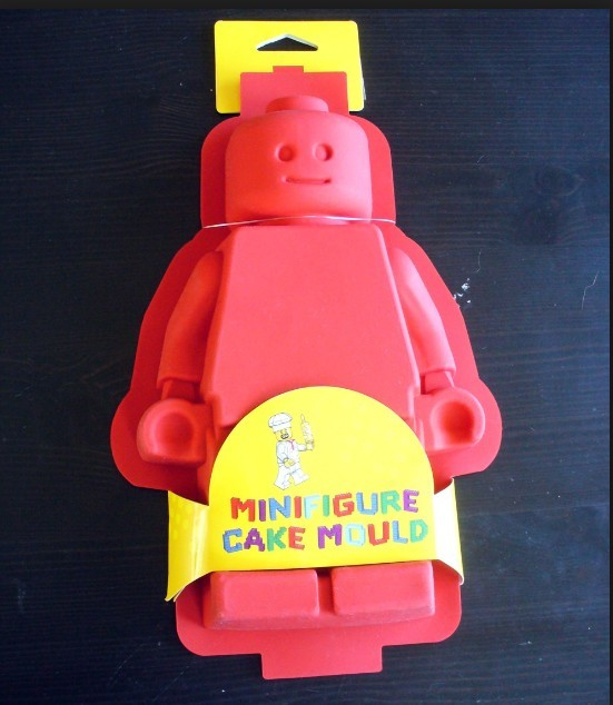 LEGO MINIFIGURE CAKE JELLO BROWNIE MOLD PARTY CAKE PAN FAST US SHIPPING