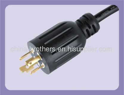 interlocking plug,north america interlock power cord