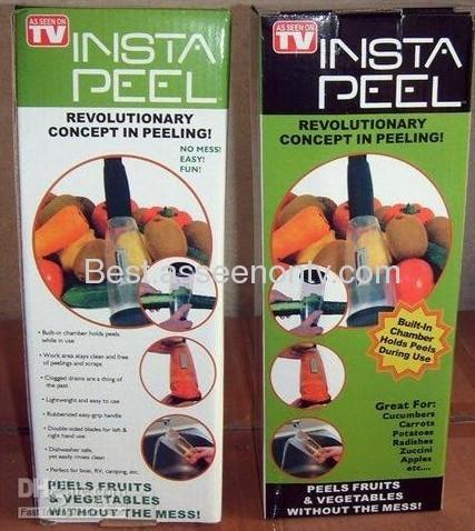 Veggie Peel Insta peel with built as seen on tv