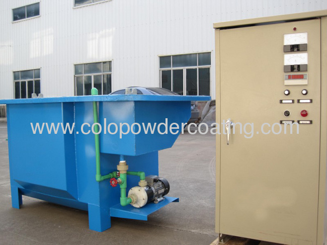 Electrophoretic Metal Powder Coating Line , Electrophoresis Equipment