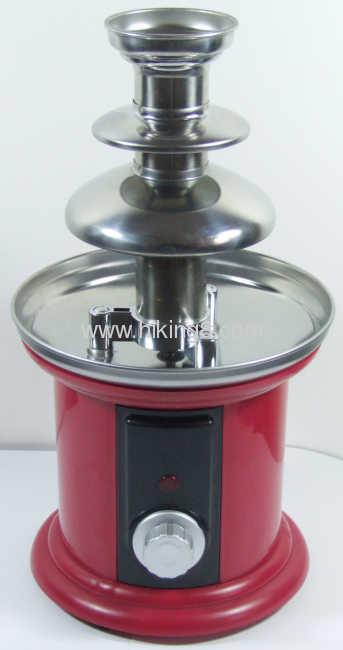 Cheap mini chocolate fountain for wholesale